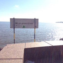 Inspiration 25 - Eira, Helsinki, Finland. We are grains of sand. An amazing prequel-to-spring-day .