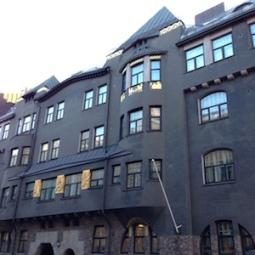 Inspiration 6 - Kruununhaka, Helsinki, Finland. Architecture, gold on black, stunning.